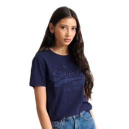 VL TONAL EMBROIDERY ENTRY TEE